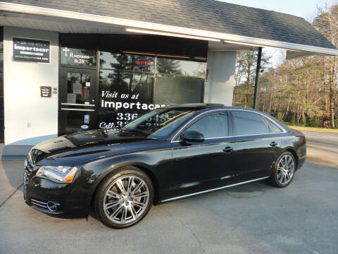 2014 Audi A8 L for sale at importacar in Madison NC