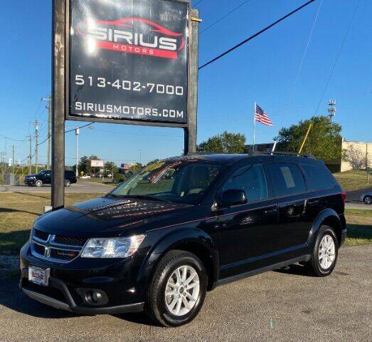 2017 Dodge Journey for sale at SIRIUS MOTORS INC in Monroe OH