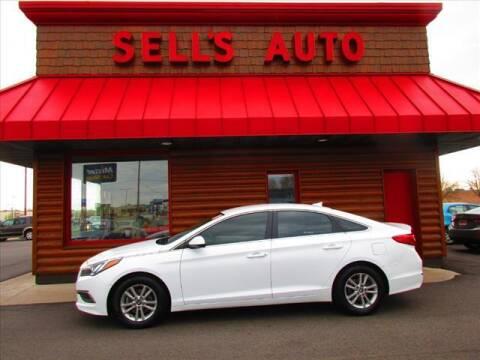 2016 Hyundai Sonata for sale at Sells Auto INC in Saint Cloud MN