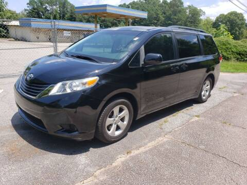 2011 Toyota Sienna for sale at GA Auto IMPORTS  LLC in Buford GA