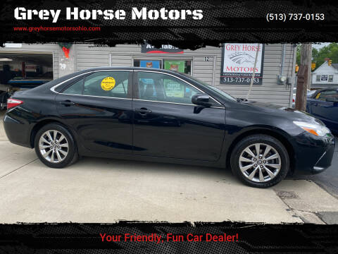 2016 Toyota Camry for sale at Grey Horse Motors in Hamilton OH