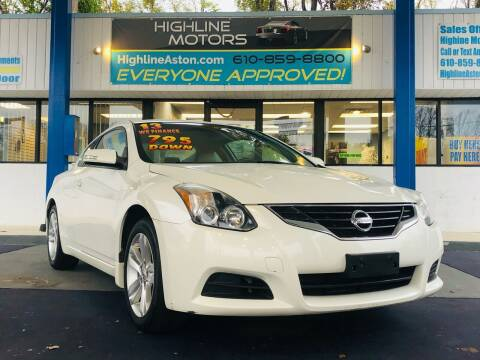 2013 Nissan Altima for sale at Highline Motors in Aston PA