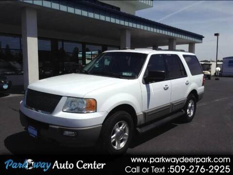 2003 Ford Expedition for sale at PARKWAY AUTO CENTER AND RV in Deer Park WA
