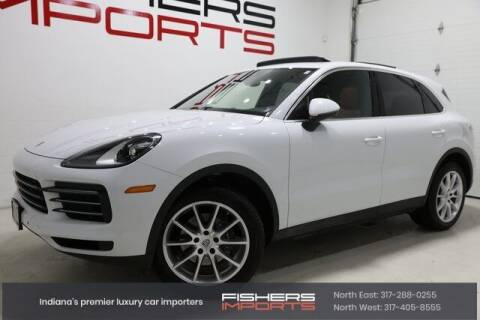 2019 Porsche Cayenne for sale at Fishers Imports in Fishers IN