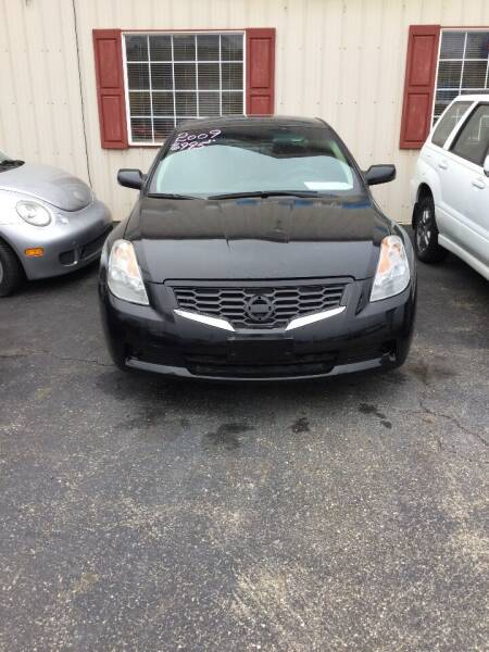 2009 Nissan Altima for sale at Stewart's Motor Sales in Cambridge/Byesville OH