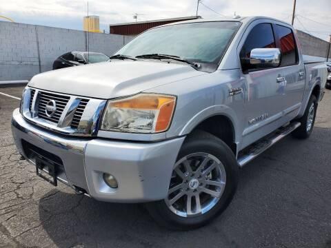 2011 Nissan Titan for sale at Auto Center Of Las Vegas in Las Vegas NV