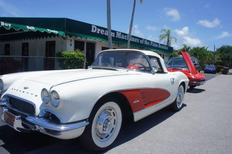 1961 Chevrolet Corvette for sale at Dream Machines USA in Lantana FL
