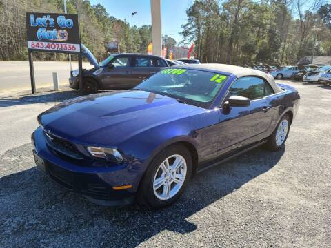 2012 Ford Mustang for sale at Let's Go Auto in Florence SC