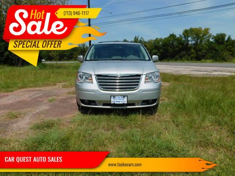 2010 Chrysler Town and Country for sale at CAR QUEST AUTO SALES in Houston TX
