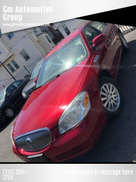 2008 Buick Lucerne for sale at GM Automotive Group in Philadelphia PA