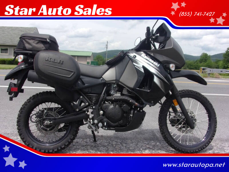 2012 Kawasaki KLR 650 for sale at Star Auto Sales in Fayetteville PA