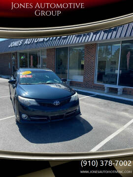 2014 Toyota Camry for sale at Jones Automotive Group in Jacksonville NC