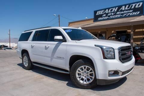 2017 GMC Yukon XL for sale at Beach Auto and RV Sales in Lake Havasu City AZ