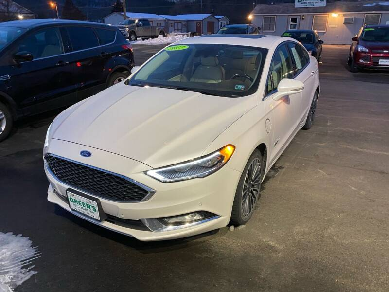 2017 Ford Fusion Energi for sale at Greens Auto Mart Inc. in Wysox PA