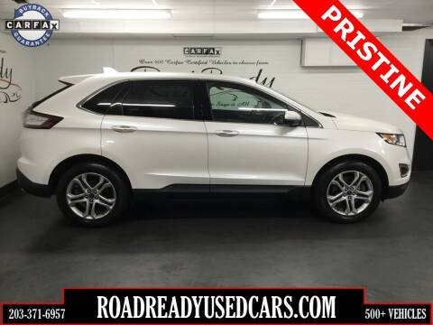 2017 Ford Edge for sale at Road Ready Used Cars in Ansonia CT