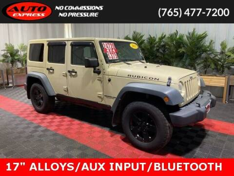 2011 Jeep Wrangler Unlimited for sale at Auto Express in Lafayette IN