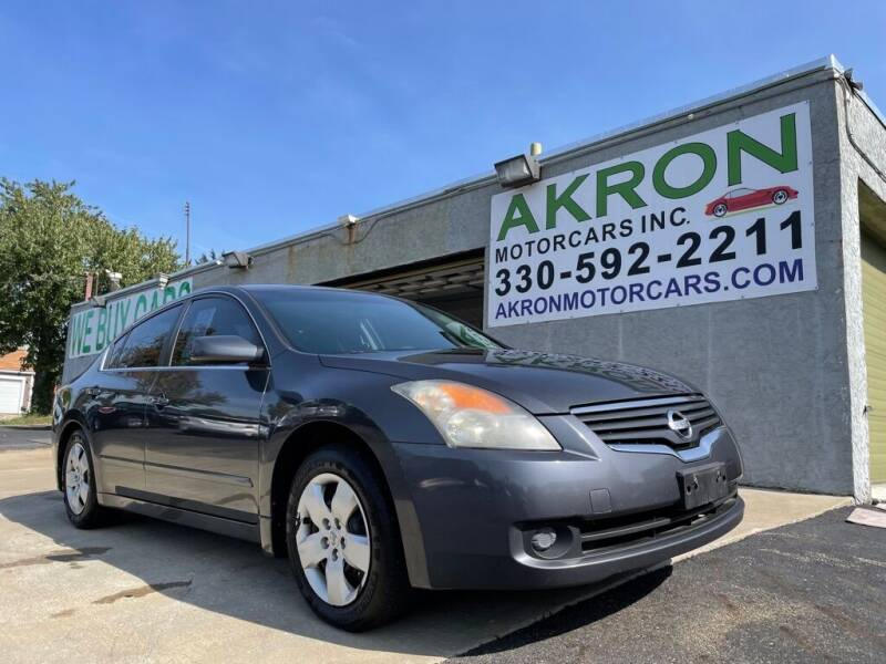 2008 Nissan Altima for sale at Akron Motorcars Inc. in Akron OH