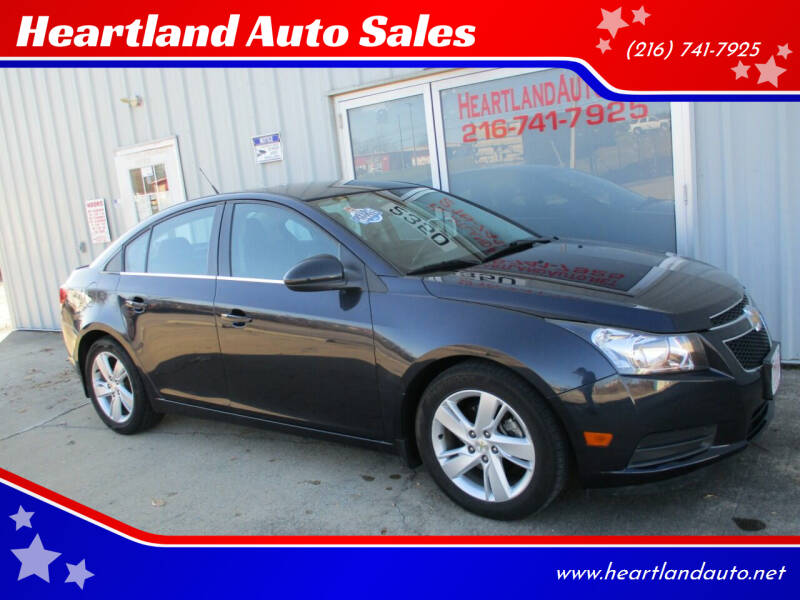 2014 Chevrolet Cruze for sale at Heartland Auto Sales in Medina OH