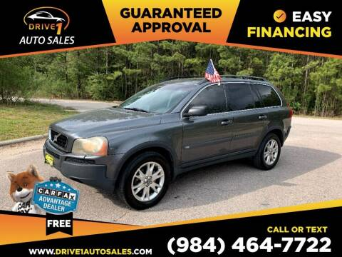 2006 Volvo XC90 for sale at Drive 1 Auto Sales in Wake Forest NC