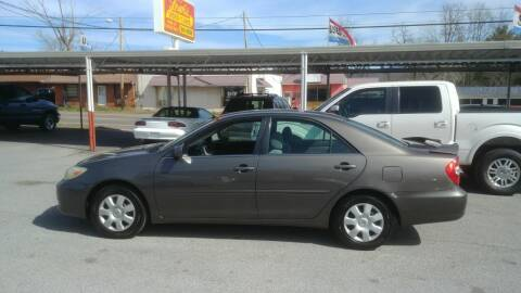 2003 Toyota Camry for sale at Lewis Used Cars in Elizabethton TN