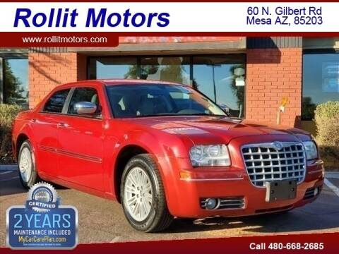 2010 Chrysler 300 for sale at Rollit Motors in Mesa AZ