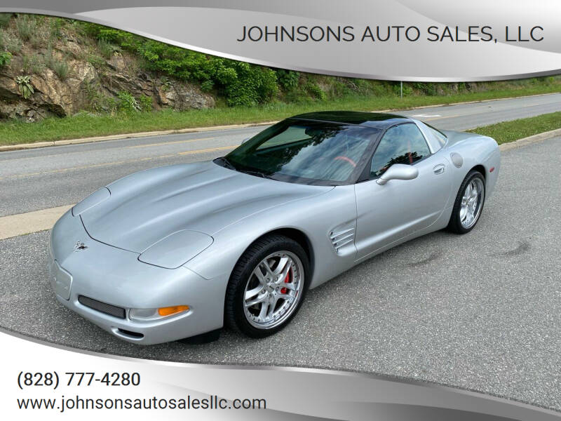 2003 Chevrolet Corvette for sale at Johnsons Auto Sales, LLC in Marshall NC