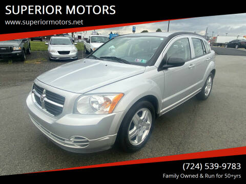 2009 Dodge Caliber for sale at SUPERIOR MOTORS in Latrobe PA