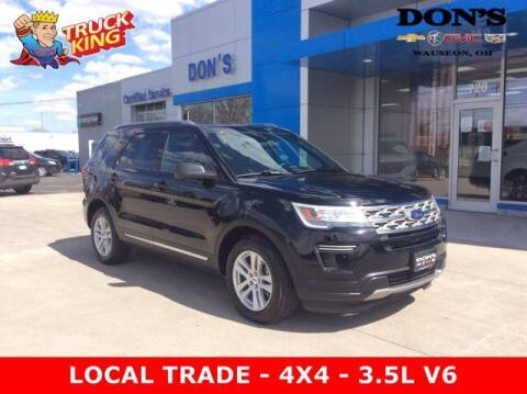 2018 Ford Explorer for sale at DON'S CHEVY, BUICK-GMC & CADILLAC in Wauseon OH