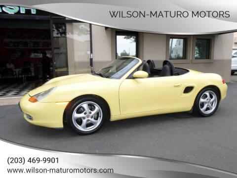 1999 Porsche Boxster for sale at Wilson-Maturo Motors in New Haven CT