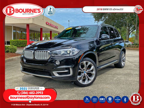 2018 BMW X5 for sale at Bourne's Auto Center in Daytona Beach FL