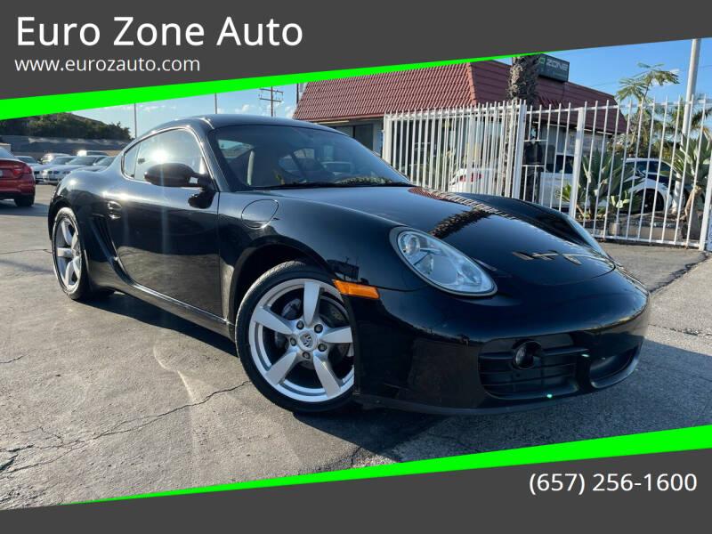 2008 Porsche Cayman for sale at Euro Zone Auto in Stanton CA