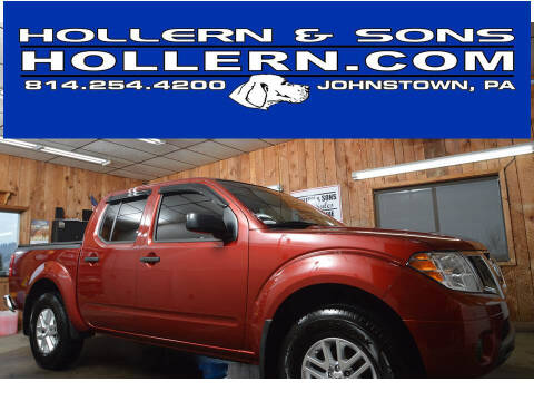 2019 Nissan Frontier for sale at Hollern & Sons Auto Sales in Johnstown PA