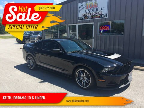2014 Ford Mustang for sale at KEITH JORDAN'S 10 & UNDER in Lima OH