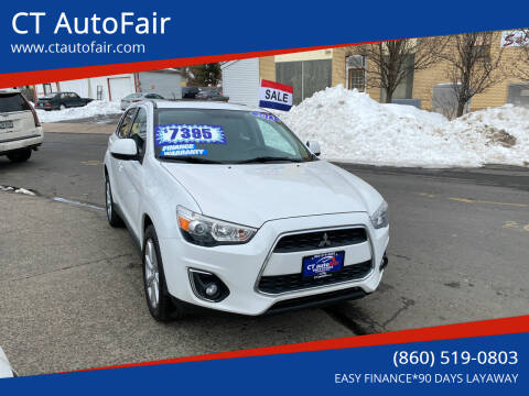 2013 Mitsubishi Outlander Sport for sale at CT AutoFair in West Hartford CT