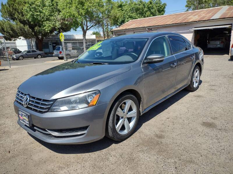 2013 Volkswagen Passat for sale at Larry's Auto Sales Inc. in Fresno CA