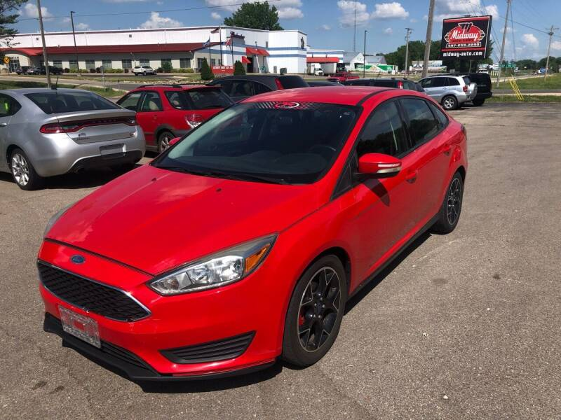 2015 Ford Focus for sale at Midway Auto Sales in Rochester MN
