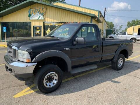 2004 Ford F-250 Super Duty for sale at RPM AUTO SALES in Lansing MI