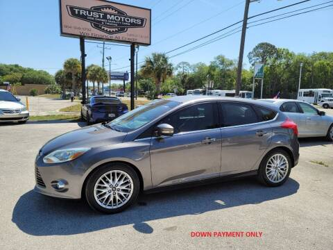 2012 Ford Focus for sale at Trust Motors in Jacksonville FL