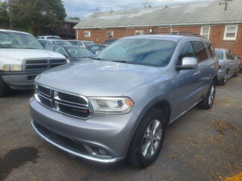 2014 Dodge Durango for sale at J & J Used Cars inc in Wayne MI