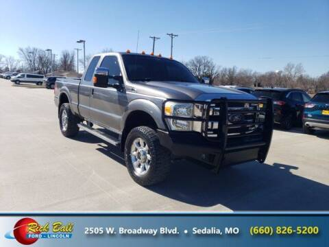 2011 Ford F-250 Super Duty for sale at RICK BALL FORD in Sedalia MO