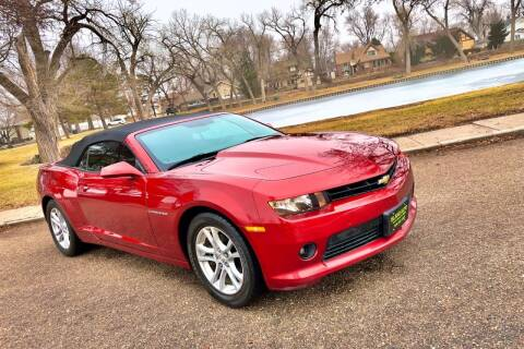 2015 Chevrolet Camaro for sale at Island Auto in Grand Island NE
