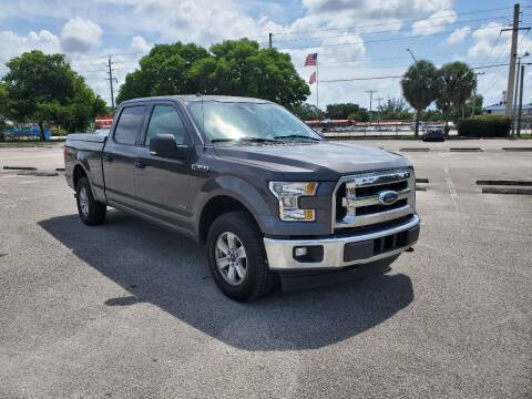 2017 Ford F-150 for sale at United Auto Center in Davie FL