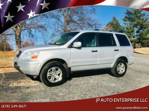 2004 Honda Pilot for sale at JP Auto Enterprise LLC in Duluth GA
