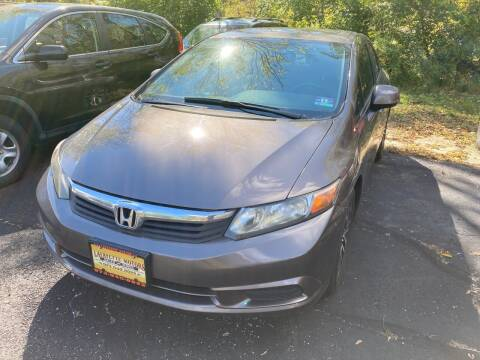 2012 Honda Civic for sale at Lafayette Motors in Lafayette NJ