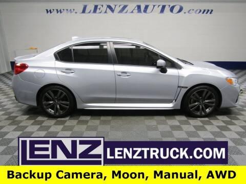 2016 Subaru WRX for sale at LENZ TRUCK CENTER in Fond Du Lac WI