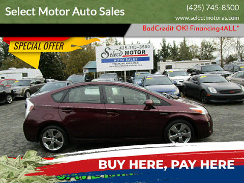 2013 Toyota Prius for sale at Select Motor Auto Sales in Lynnwood WA