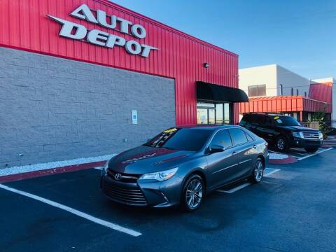 2016 Toyota Camry for sale at Auto Depot of Smyrna in Smyrna TN