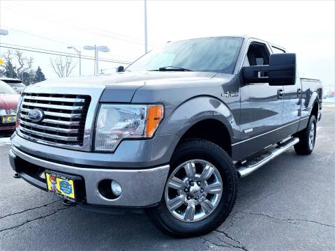 2011 Ford F-150 for sale at SAINT CHARLES MOTORCARS in Saint Charles IL
