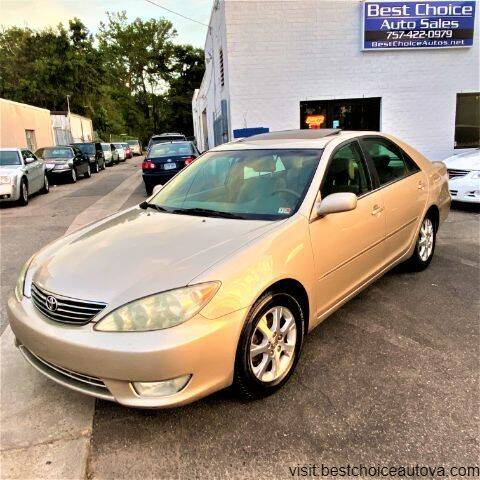 2005 Toyota Camry for sale at Best Choice Auto Sales in Virginia Beach VA