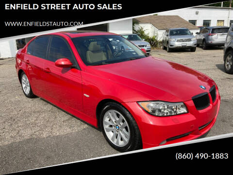 2007 BMW 3 Series for sale at ENFIELD STREET AUTO SALES in Enfield CT